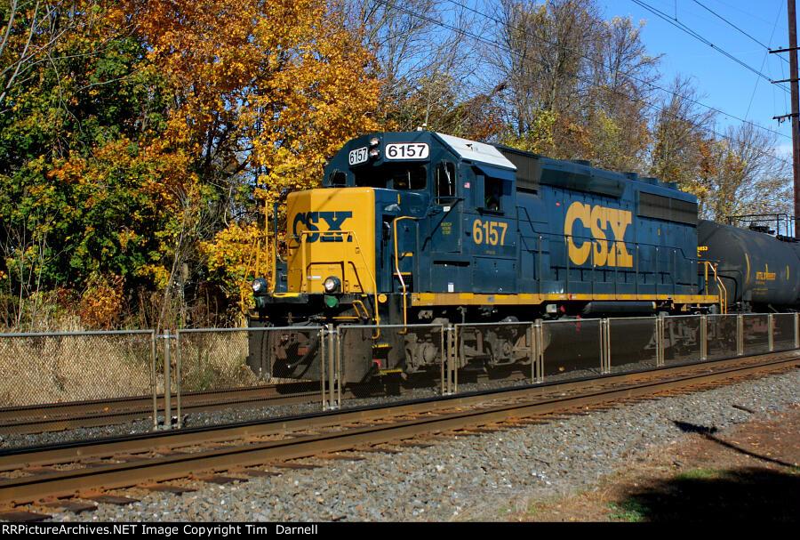 CSX 6157  on local C770